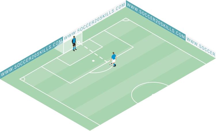 Goal left